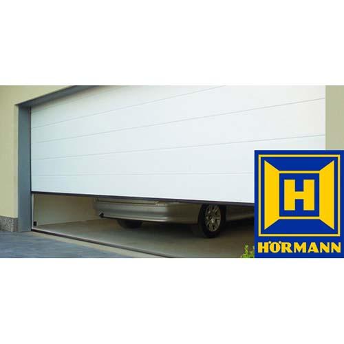 Секционные гаражные ворота Hormann ручные